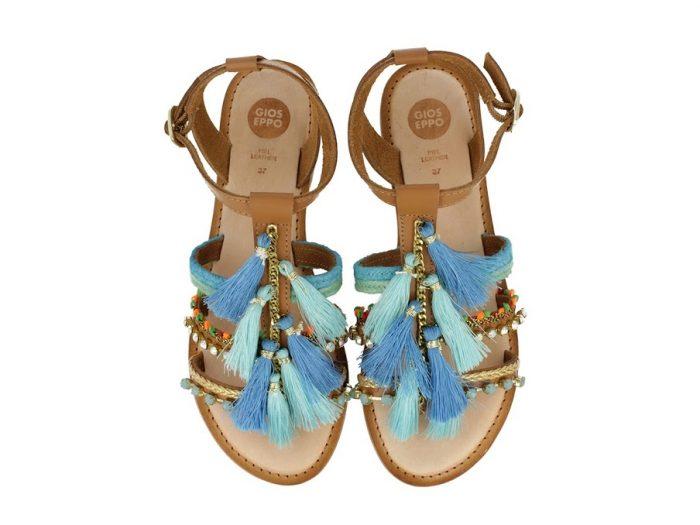 Gioseppo Nambi Blue Sandal | Buy online