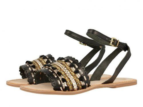 Gioseppo Rimachi Black Sandal - Buy Online