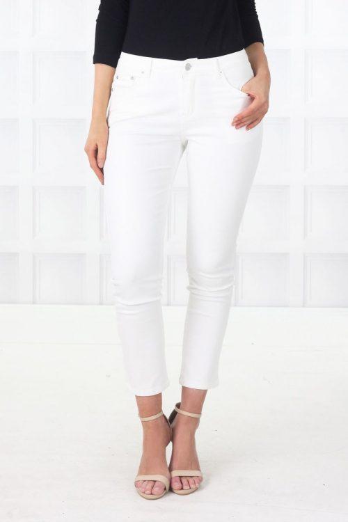 Moto White Jeans