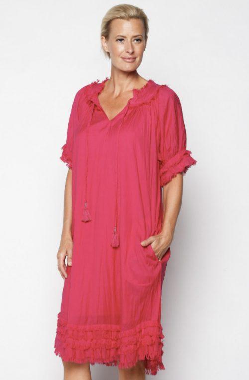 Pink Panama Dress