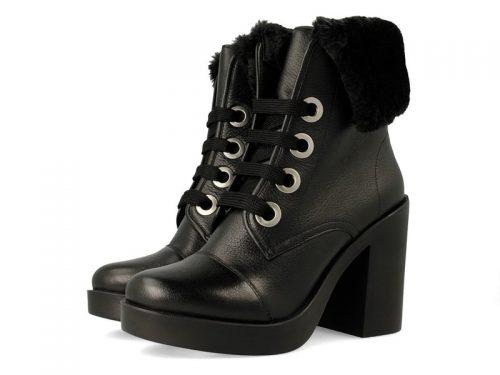 Gioseppo 41953 Soren Black Fur Boot