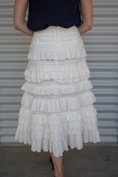 Kamare Chastity Skirt White