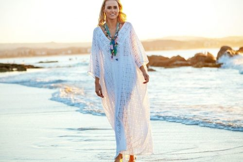 Windy White Kaftan
