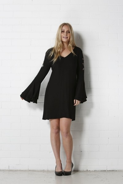 Shirley Black Dress