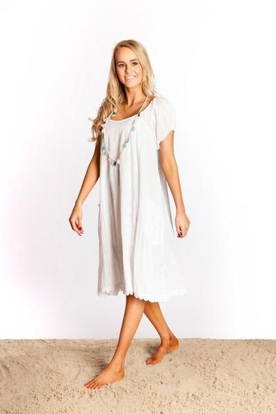 Sao Paulo White Dress