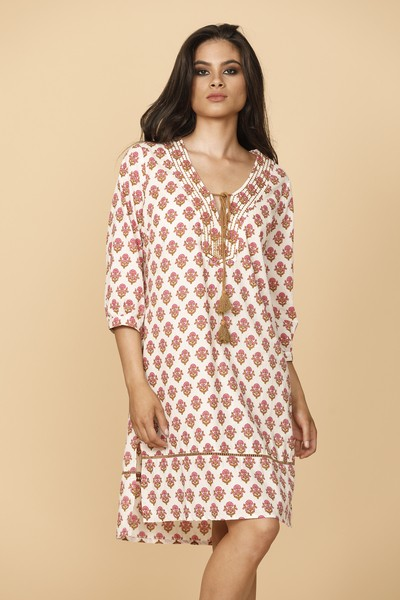 Talisman Viro Dress Plazzo Print