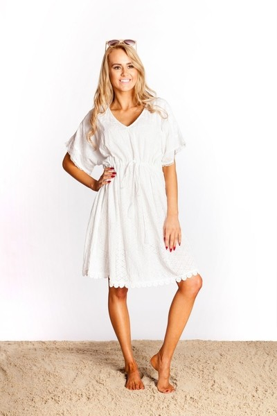 White Milly Dress
