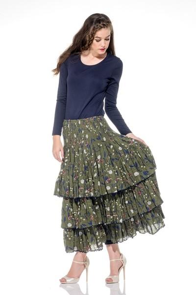Naudic Sangria Skirt