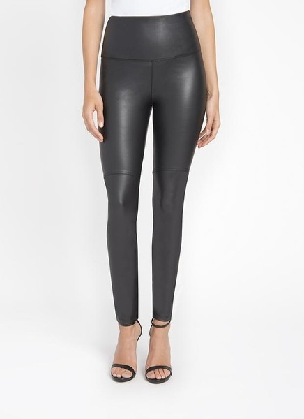 Lysse Black Vegan Leather Pants