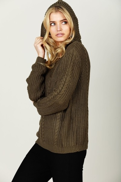 Buy Brave and True Unwind Knit Lichen Online