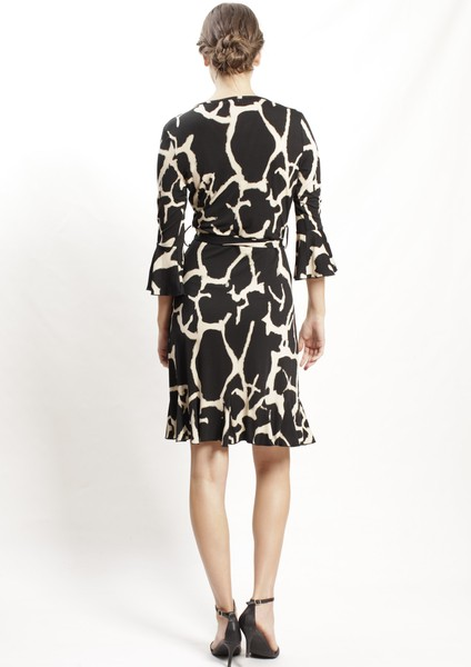 Buy Spicy Sugar Giraffe Print Dress Online