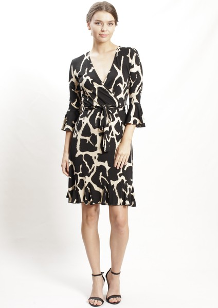 Buy Spicy Sugar Giraffe Print Dress On Line