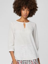 Eileen Blouse in Stone