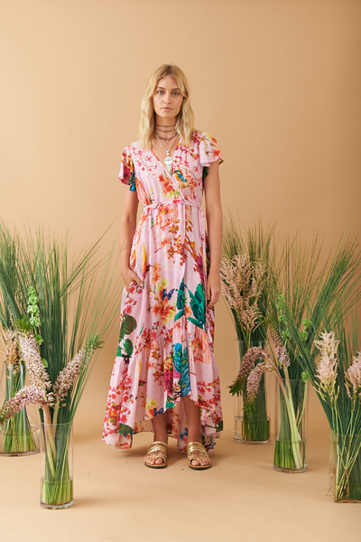 Ruby Yaya Hummingbird Maxi Dress | Shop Now