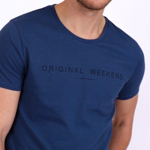 Original Weekend Navy T-Shirt