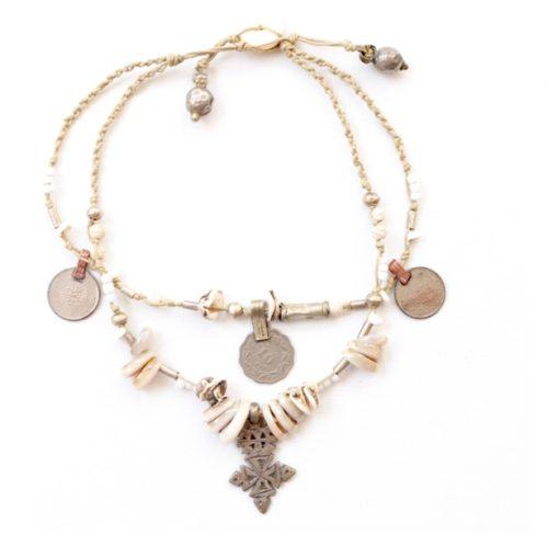 Not heidi Cross Necklace